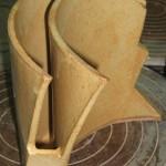 tecnica: placa / molde criado pelo aluno