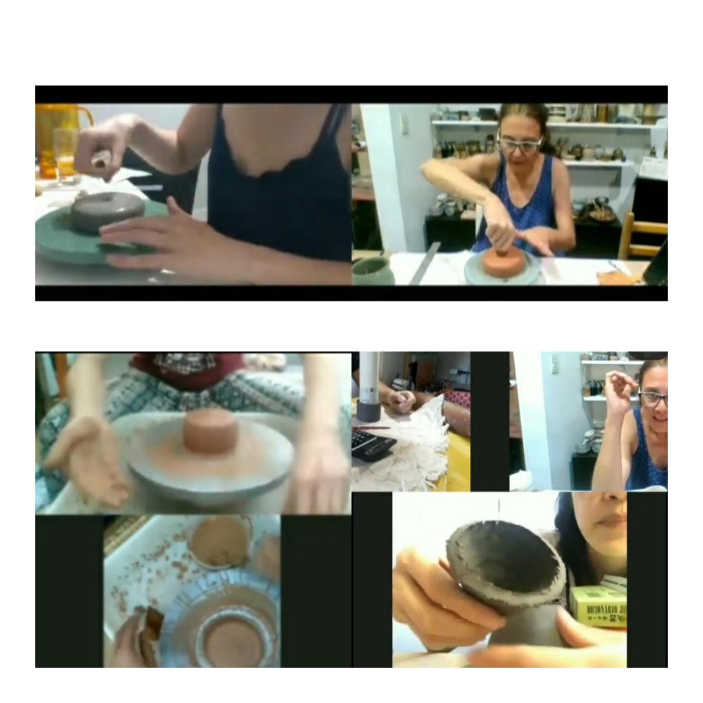 encontro do curso de cerâmica online